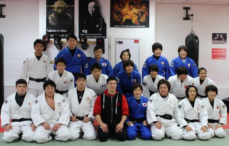 Red-Tiger-Club - Japanische Nationalmannschaft Judo Duesseldorf