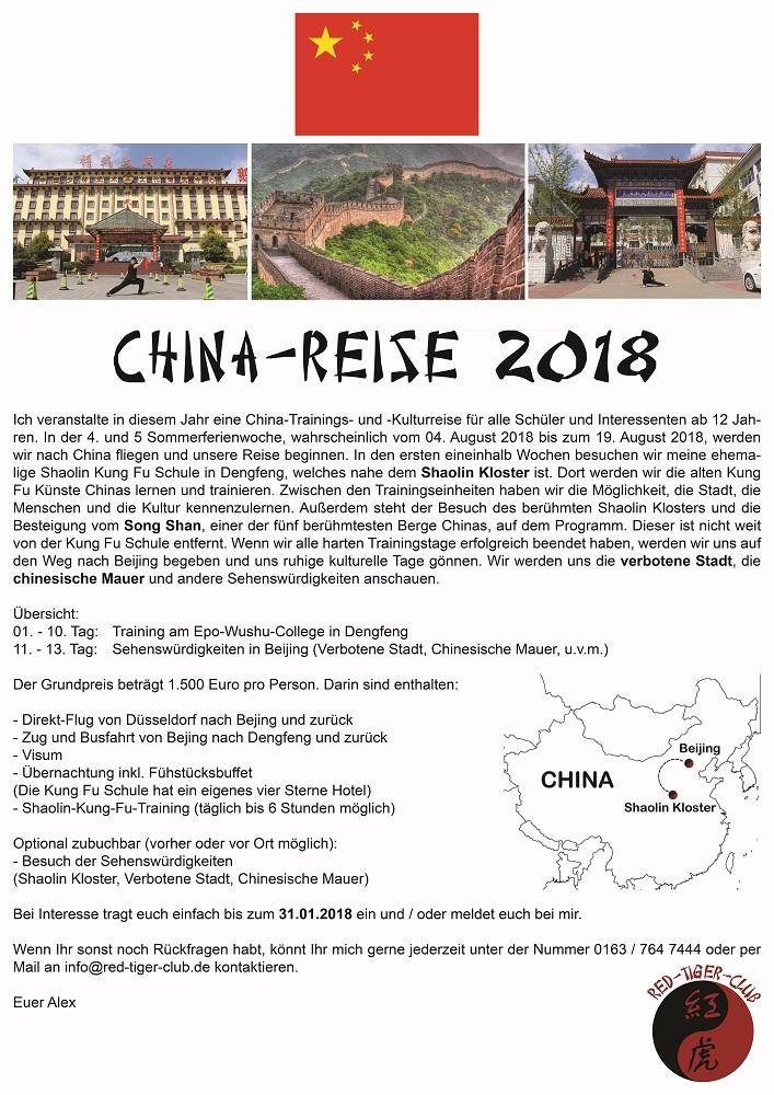 China-Reise 2018