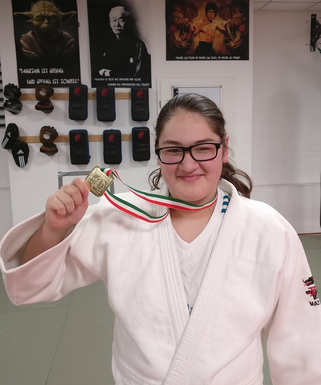 Red-Tiger-Clubs erste Judo Westdeutsche Meisterin