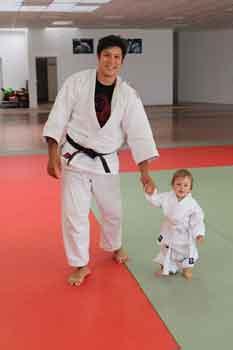 Kampfsportschule-Düsseldorf-Eltern-Kind-Judo